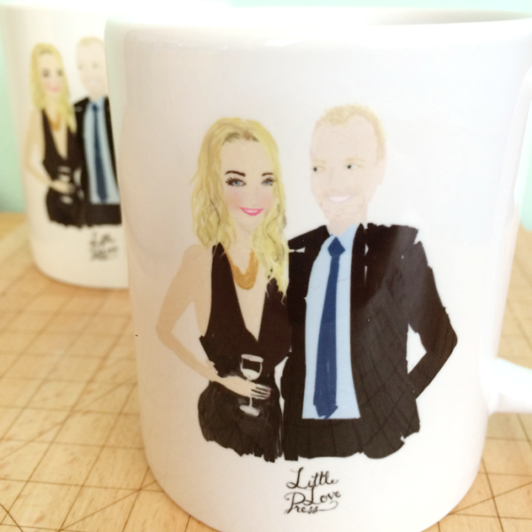 littlelovepress_custom_fashion_illustration_portrait_mugs