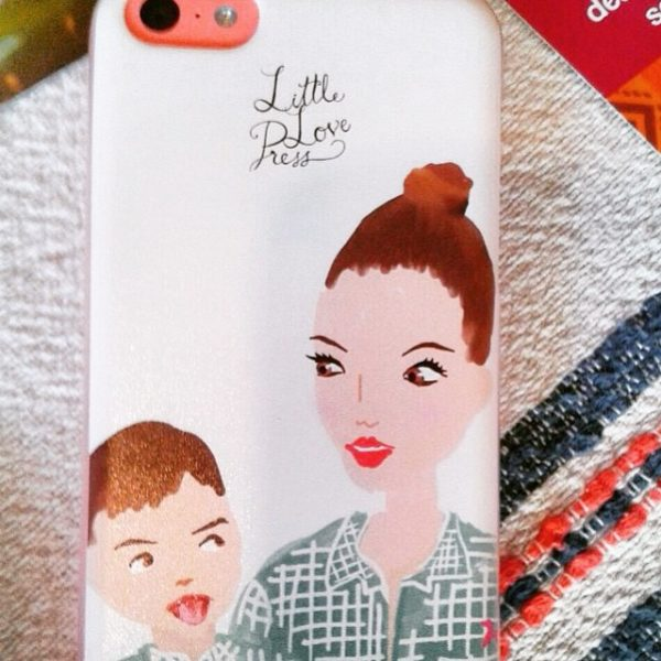 custom portrait phone case