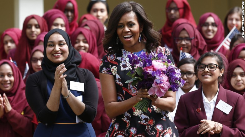 michelle obama london let girls learn