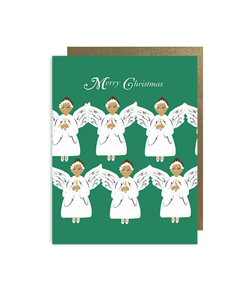 little-love-press-angels-dark-skin-color-folded-note-card