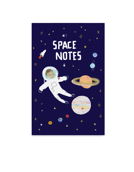 Little Love Press Astronaut Notebook