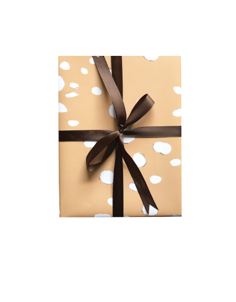 little love press baby deer wrapping paper