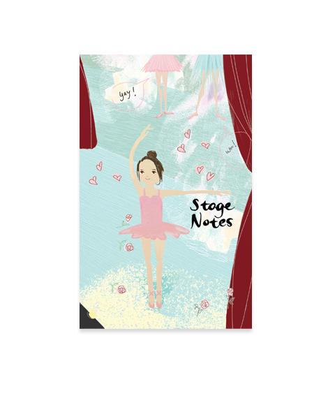 Little Love Press Ballerina Notebook