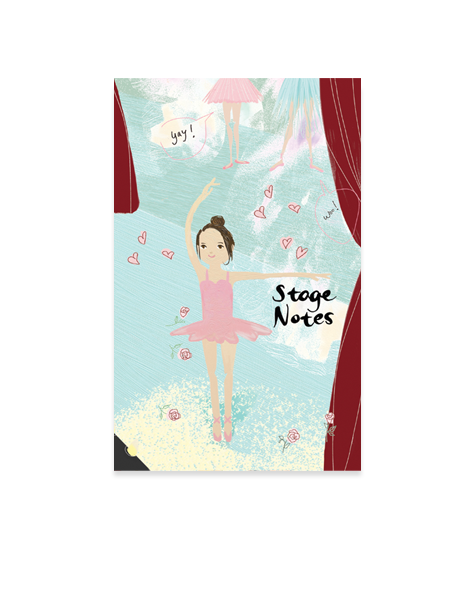 Little Love Press Ballerina Notebook