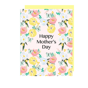 Butterflies Mother's Day Note Card