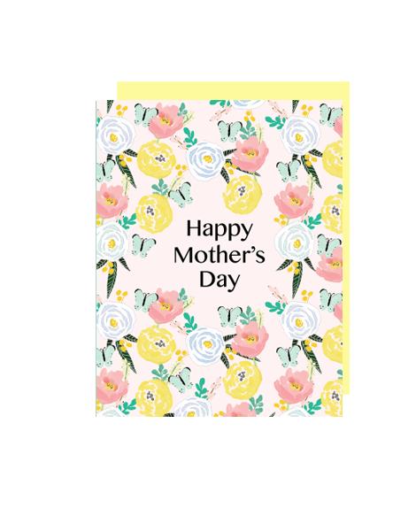 little love press butterflies mothers day card