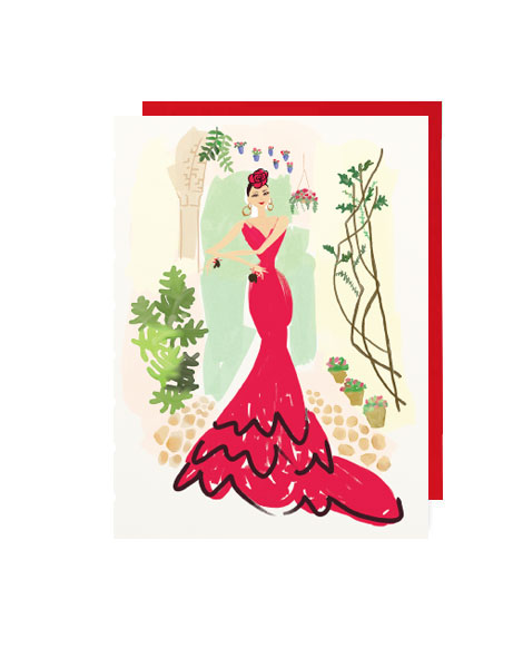 little-love-press-flamenco-lover-note-card