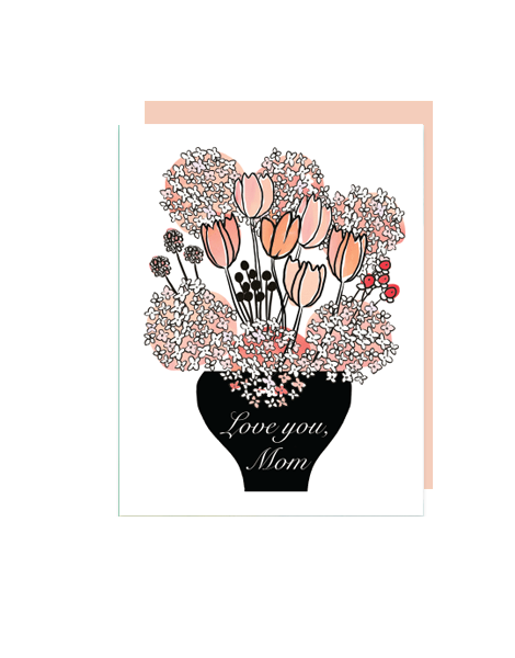 little love press hydrangeas mothers day card