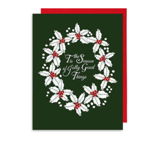 Jolly Good Time Holiday Note Card