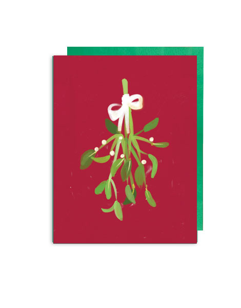 little-love-press-mistletoe-folded-note-card