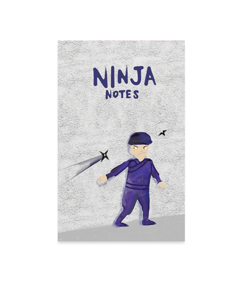Little Love Press Ninja Notebook