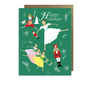 Nutcracker Ballet Holiday Note Card