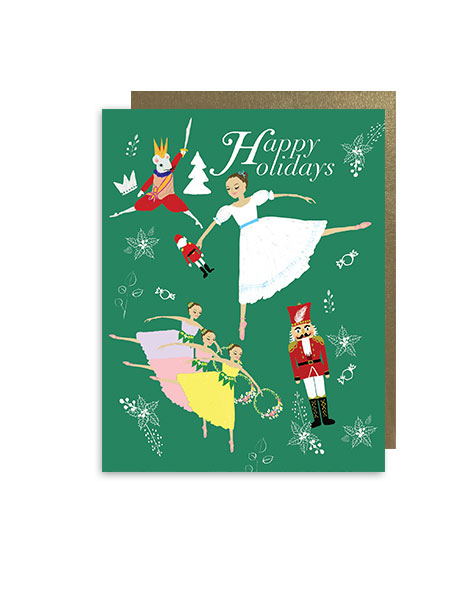 little love press nutcracker holiday note card