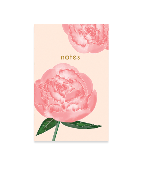 Little Love Press Peonies Notebook