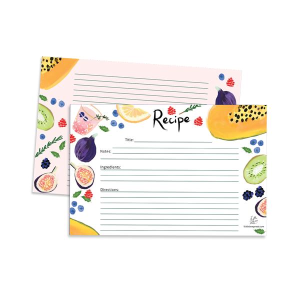 little love press recipe cards