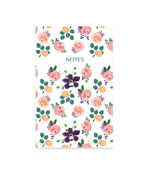 Little Love Press roses notebook