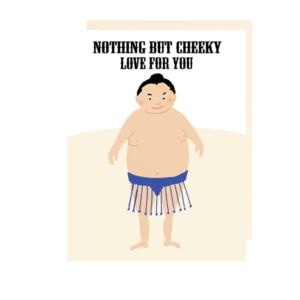 Sumo Note Card