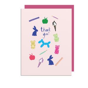 Thank You Note Card for Teachers