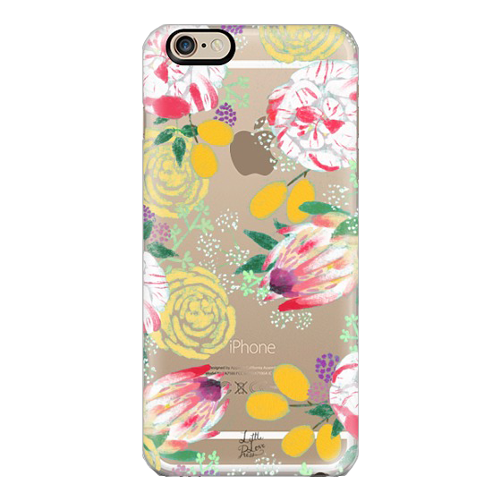protea and roses phone case